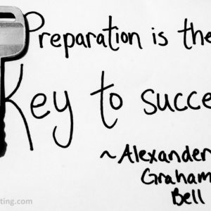 PREPARATION + OPPORTUNITY = SUCCESS!